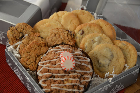 Peppermint Crumb & Cookie Assortment