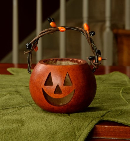 Meadowbrooke Gourds Party Treat- Pumpkin Basket