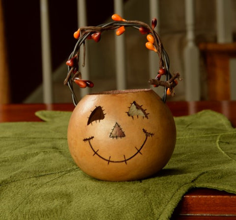 Meadowbrooke Gourds Party Treat-Scarecrow Basket
