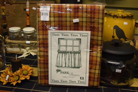 Park Designs Plaid Tiers Turnberry Pattern