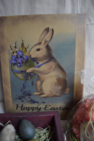 8 x 10 Happy Easter Canvas