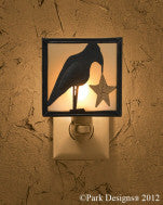 Night Light - Crow w/Star