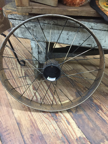 Antique Large Bikewheel