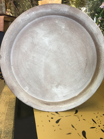 "11.5"" Brown Plate"