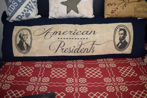 American President Pillow