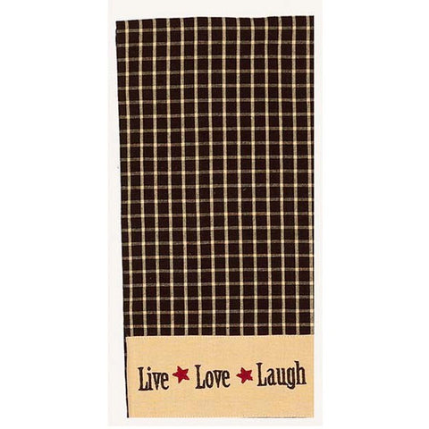 Live Love Laugh Towel