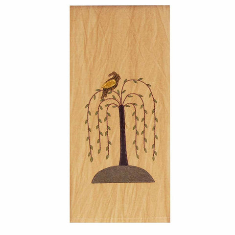 Bird in a Willow Tree Towel