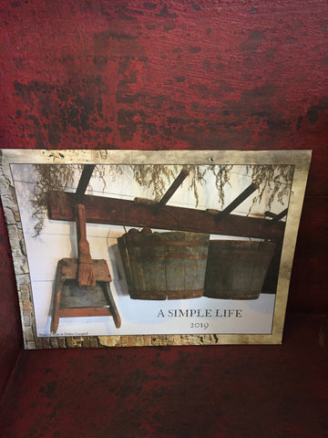 A Simple Life Calendar By A Simple Life Magazine