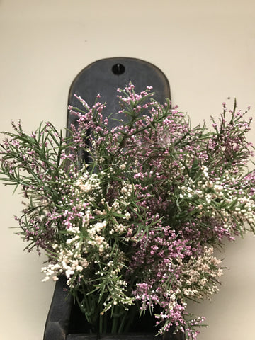 "16"" Pink & Purple Heather Stem"