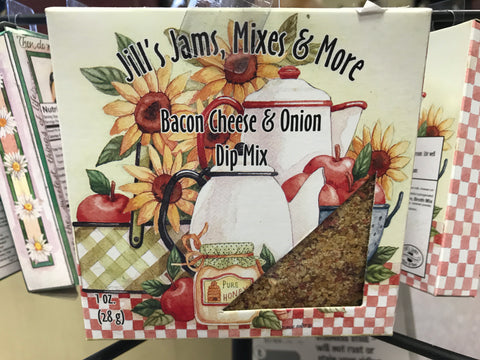 Jill's Jams, Mixes & More Bacon Cheese & Onion