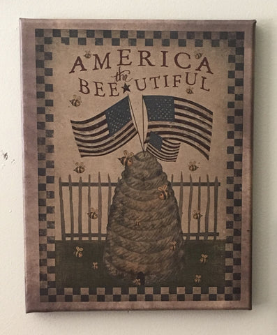 8x10 America the Beautiful Picture