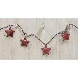 Rustic Star Light Strand, 10 ct.