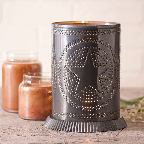 Candle Warmer w/ Regular Star Country Tin