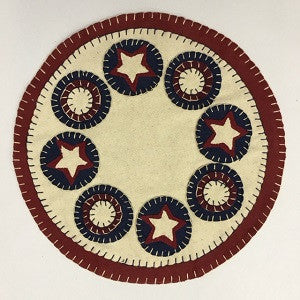 Americana Table Mat 12""