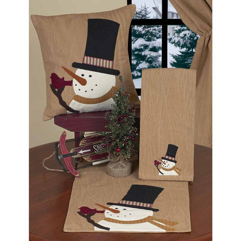 Snowman Sam Table Runner