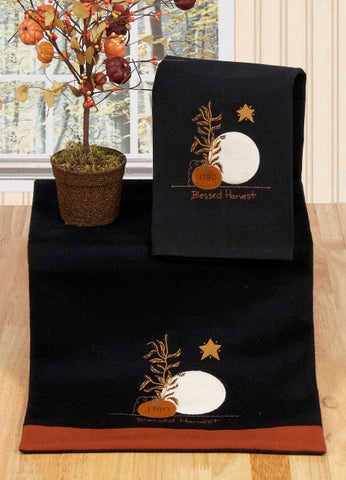 Raghu Blessed Harvest Table Runner 14x36 in