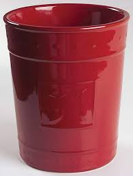 Sorrento Utensil Holder Burgundy
