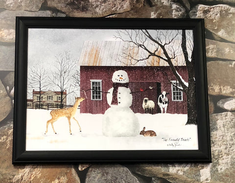 Billy Jacobs Framed Print The Friendly Beast