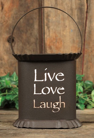 Live Laugh Love Oval Wax Warmer