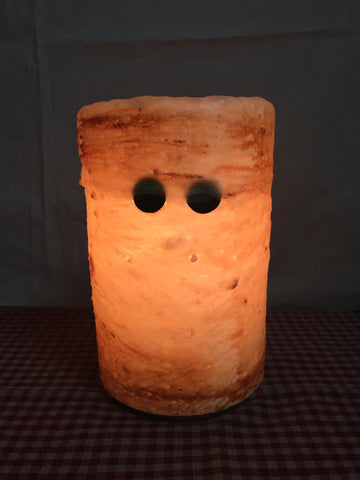 "6"" Candle Sleeve - Mummy Brown Sugar"
