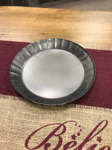 "6"" Tin Candle Pan"
