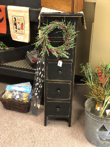 5 Drawer Candle Cabinet