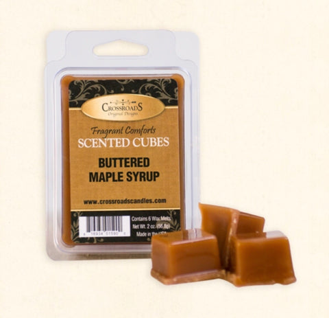 Crossroads Scented Cubes Buttered Maple Syrup