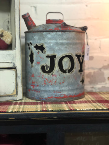 Luminary JOY Cut Out Gas Can - Small