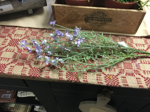 "21"" Lavender Wispy Forget Me Not Bouquet"