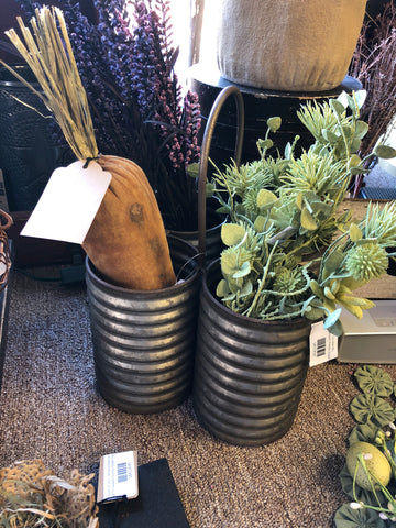 Cobblestone Quadruple Barrel Planter