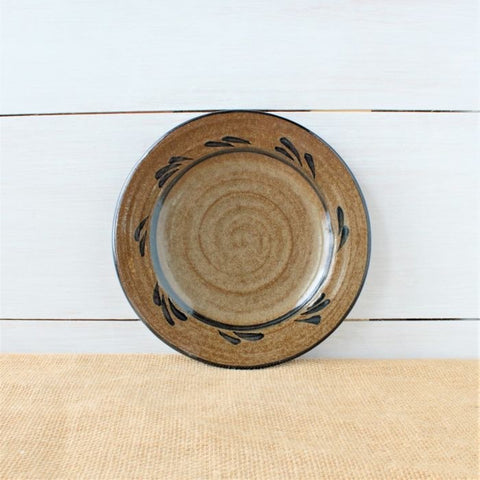 Rowe Pottery Provincial Salad Plate