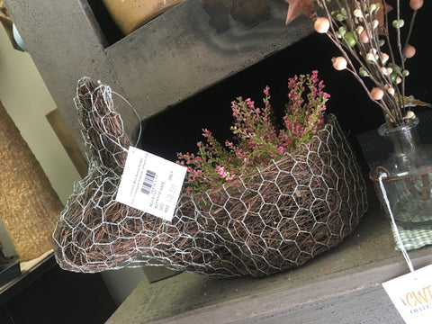 Chicken Wire Bunny Basket