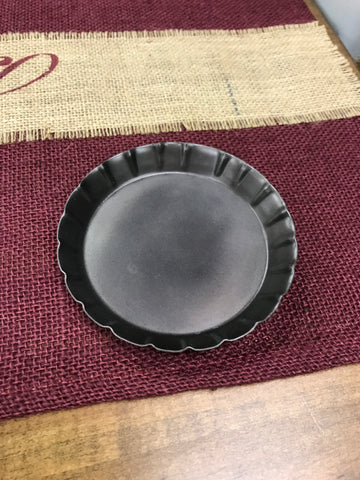 "4"" Tin Candle Pan"