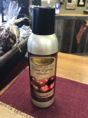 Crossroads Room Spray Fresh Apple
