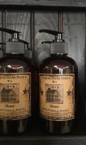 "Herbal Star Candle Co. Liquid Soap ""Home"""