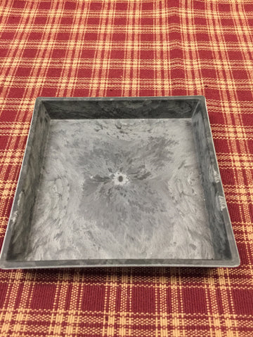 Square Resin Tray 5.375