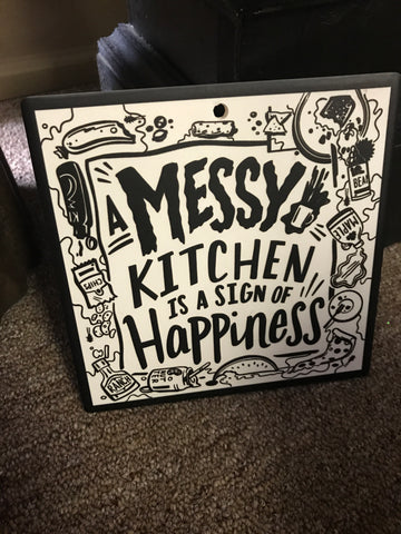Messy Kitchen Trivet