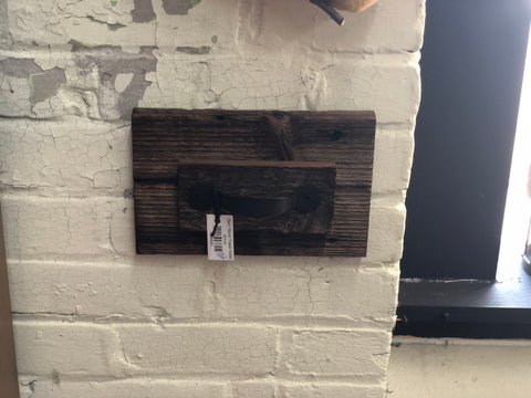 Barn Wood Towel Holder