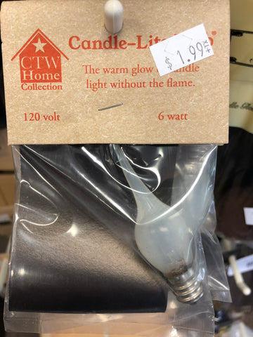 6 Watt Medium Candle Lite Light Bulb
