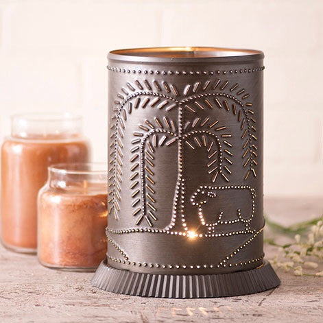 Candle Warmer w/ Willow Tree & Sheep