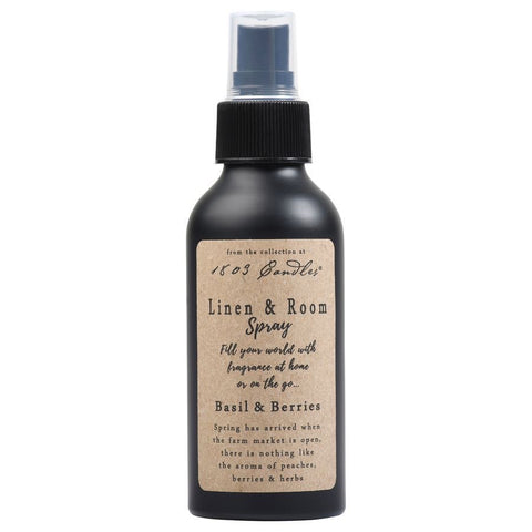 1803 Linen & Room Spray Basil & Berries