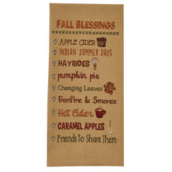 Fall Blessing Towel