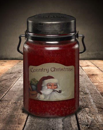 McCall's Classic Jar Candle 26oz Country Christmas
