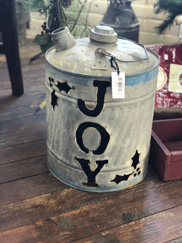 Luminary JOY Cut Out Gas  Can - Large