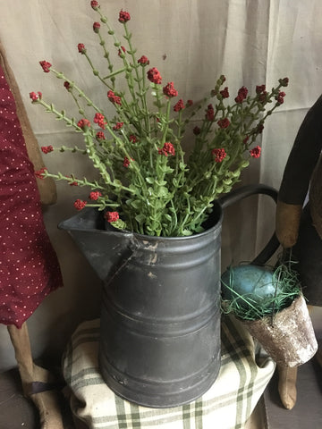 15927RD . . . 11in Red Teardrop and Berry Mini Bouquet