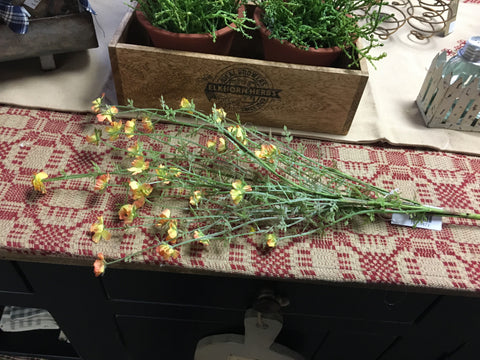 "21"" Yellow Wispy Forget-Me- Not Bouquet"