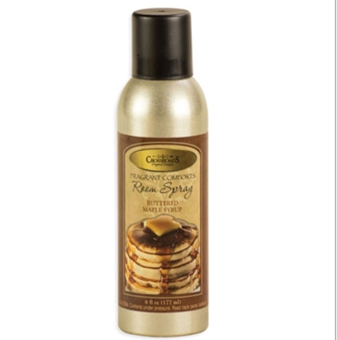Crossroads Room Spray Buttered Maple Syrup