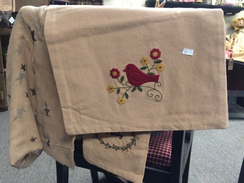 Songbird Table Runner 14x36