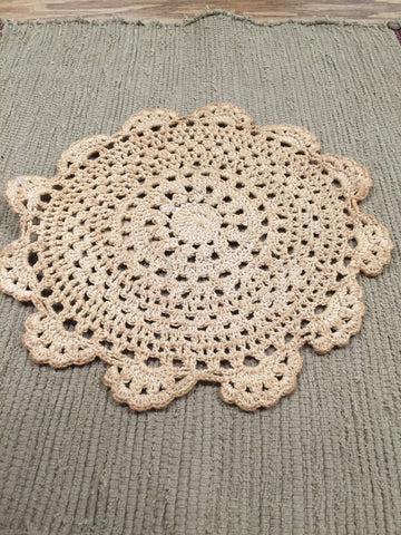 Crochet Doily - Large - 8.5 in.