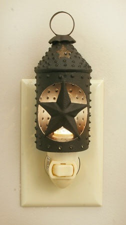 Punched Star Paul Revere Night Light